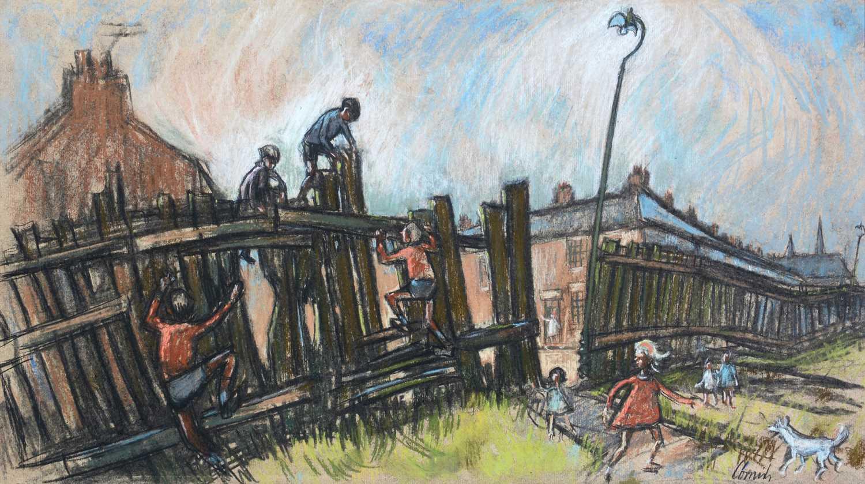 Norman Stansfield Cornish - oil.