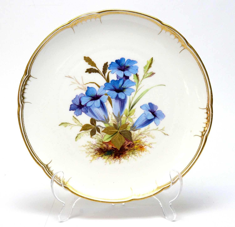 Derby Crown Porcelain Company Dessert Service - Image 3 of 4