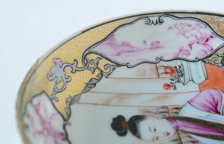 Yongzheng Famille rose saucer. - Image 15 of 15