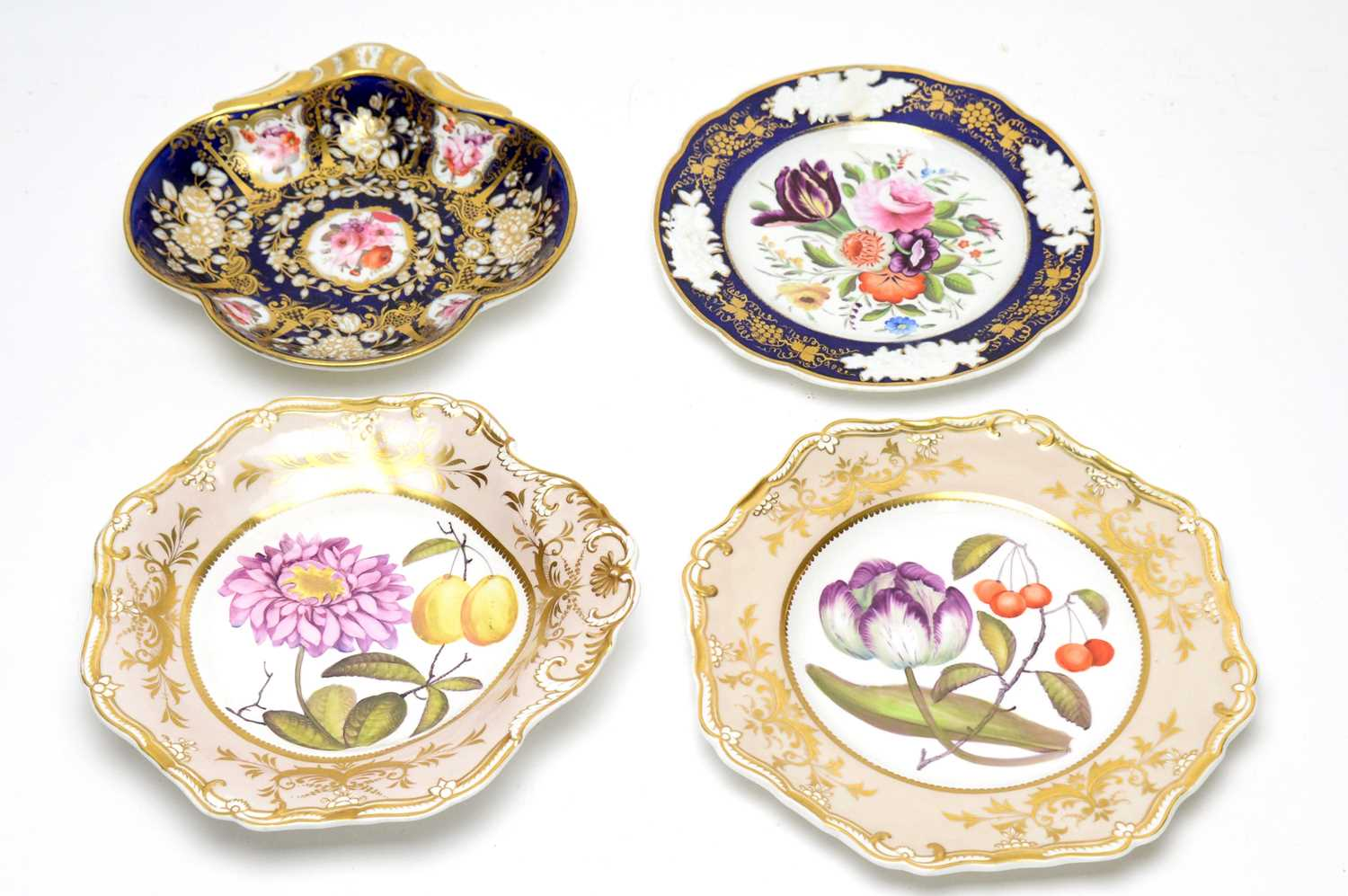 Two Spode dessert plates, two others - Image 10 of 10