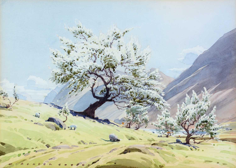 William Heaton Cooper - watercolour.