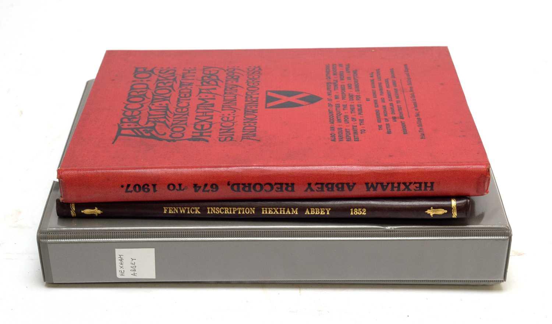 Books of Hexham interest