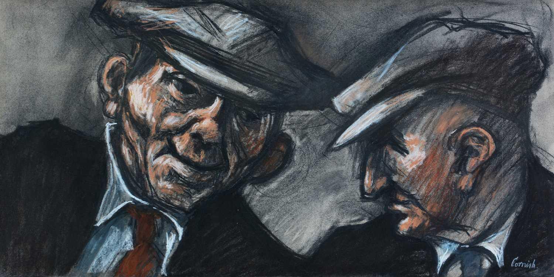 Norman Stansfield Cornish - watercolour. - Image 2 of 5
