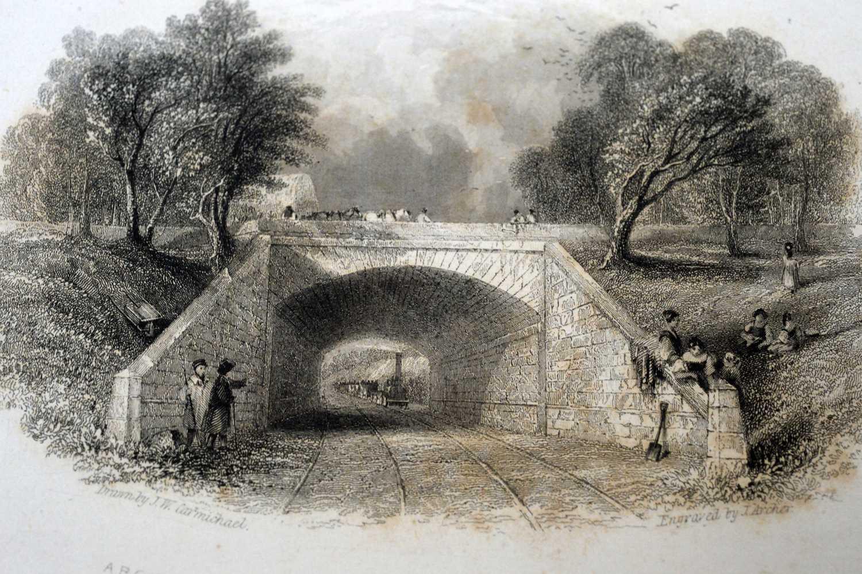 Blackmore (John), Views on the Newcastle and Carlisle Railway, - Image 3 of 4