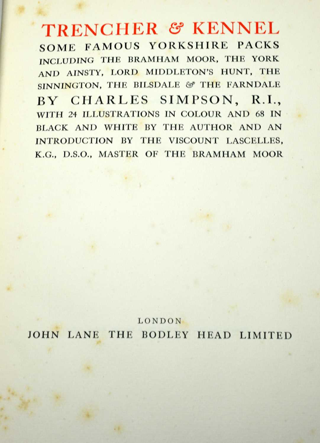 Books on Hunting - Image 2 of 7
