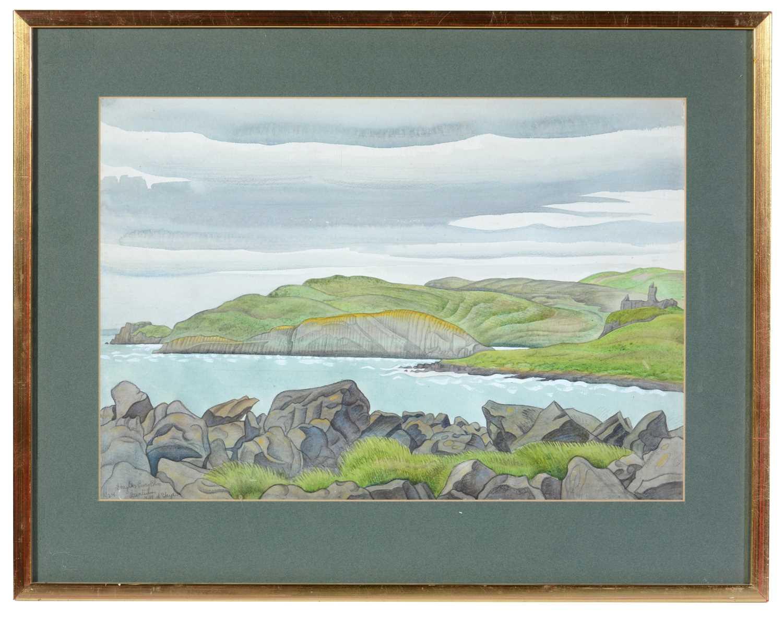 Douglas Percy Bliss - watercolour