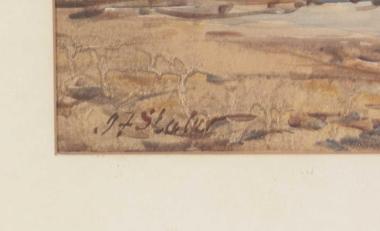 John Falconar Slater - watercolour. - Image 2 of 4