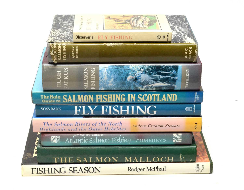 Falkus (Hugh) Salmon Fishing, and other angling books