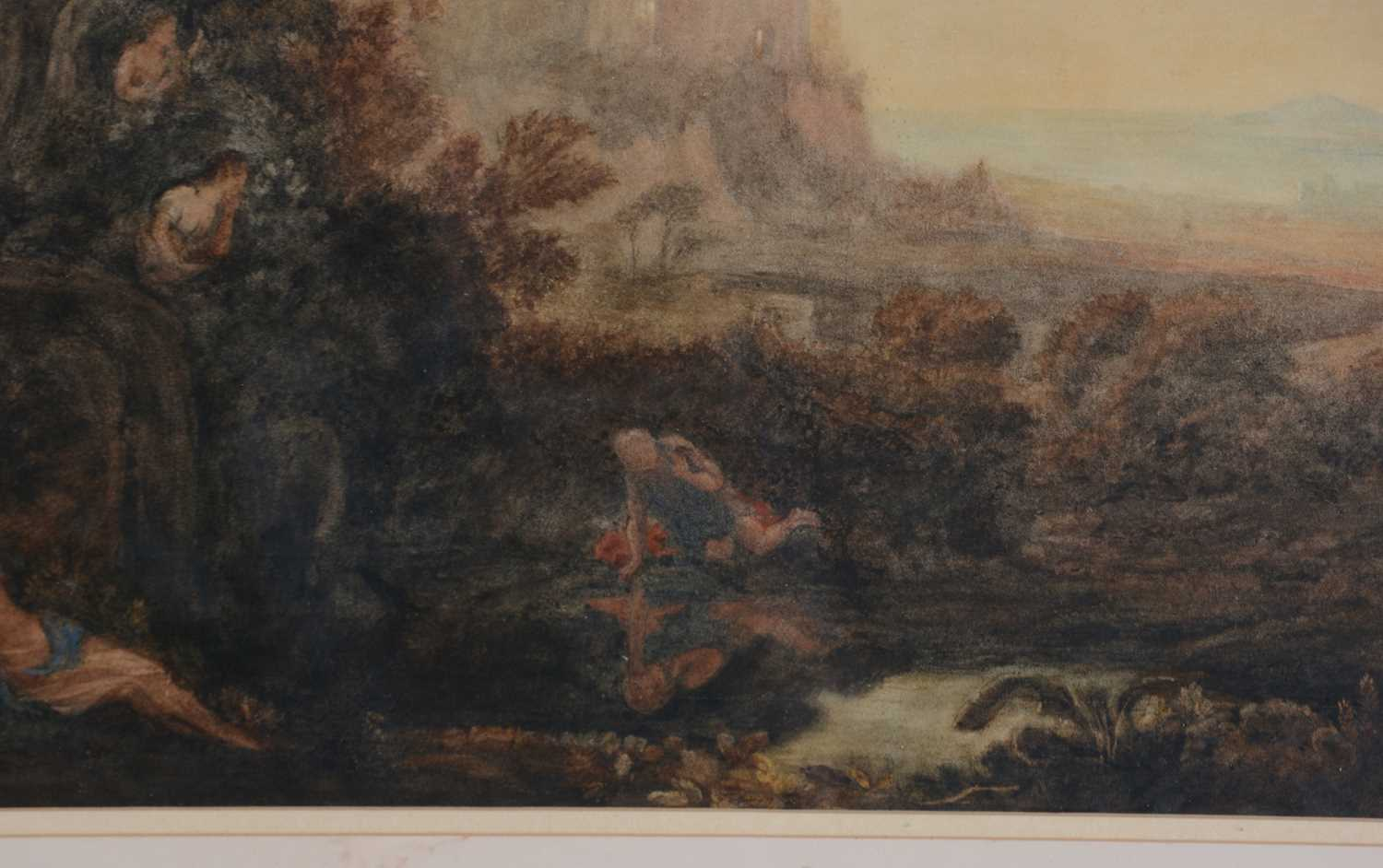 Attributed to Joseph Mallord William Turner, RA - watercolour - Image 5 of 11