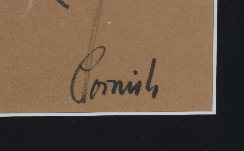 Norman Stansfield Cornish - watercolour. - Image 2 of 4