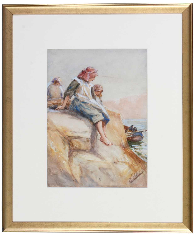 Robert Jobling - watercolour.