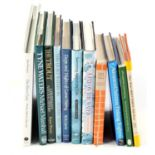 Books on angling.