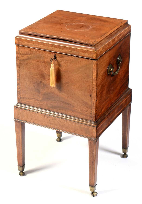 19th Century mahogany cellarette