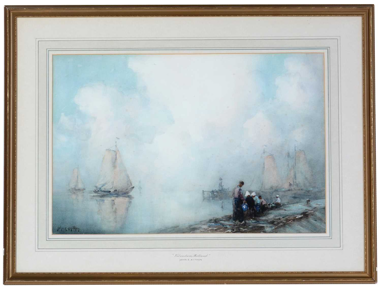 John E. Aitken - watercolour.