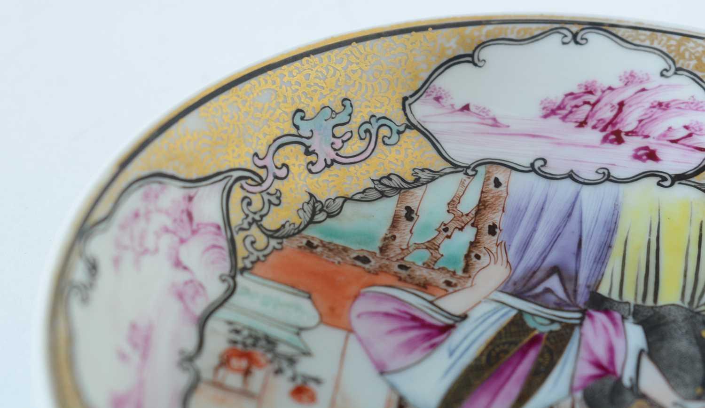 Yongzheng Famille rose saucer. - Image 11 of 15
