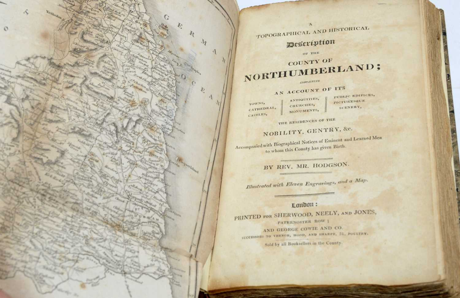 Bates (Cadwallader J.), Popular County Histories: Northumberland, and two other books - Image 4 of 4