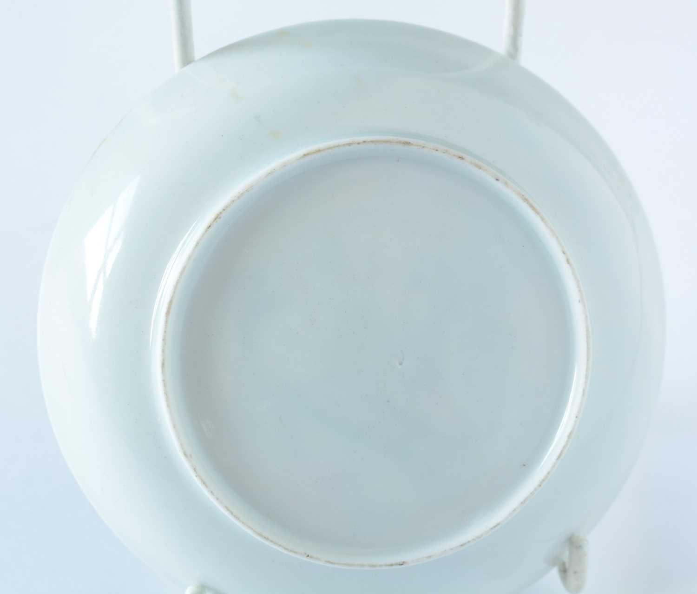 Yongzheng Famille rose saucer. - Image 4 of 15