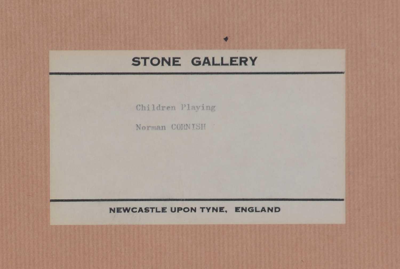 Norman Stansfield Cornish - oil. - Image 3 of 4