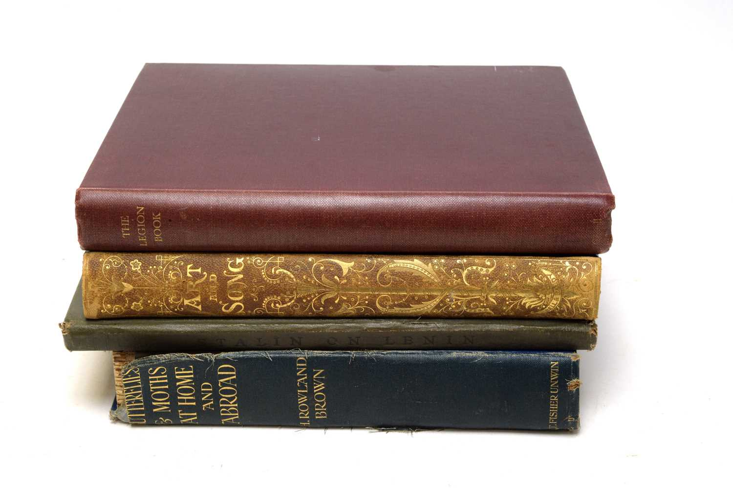 Four books on poetry and other subjects