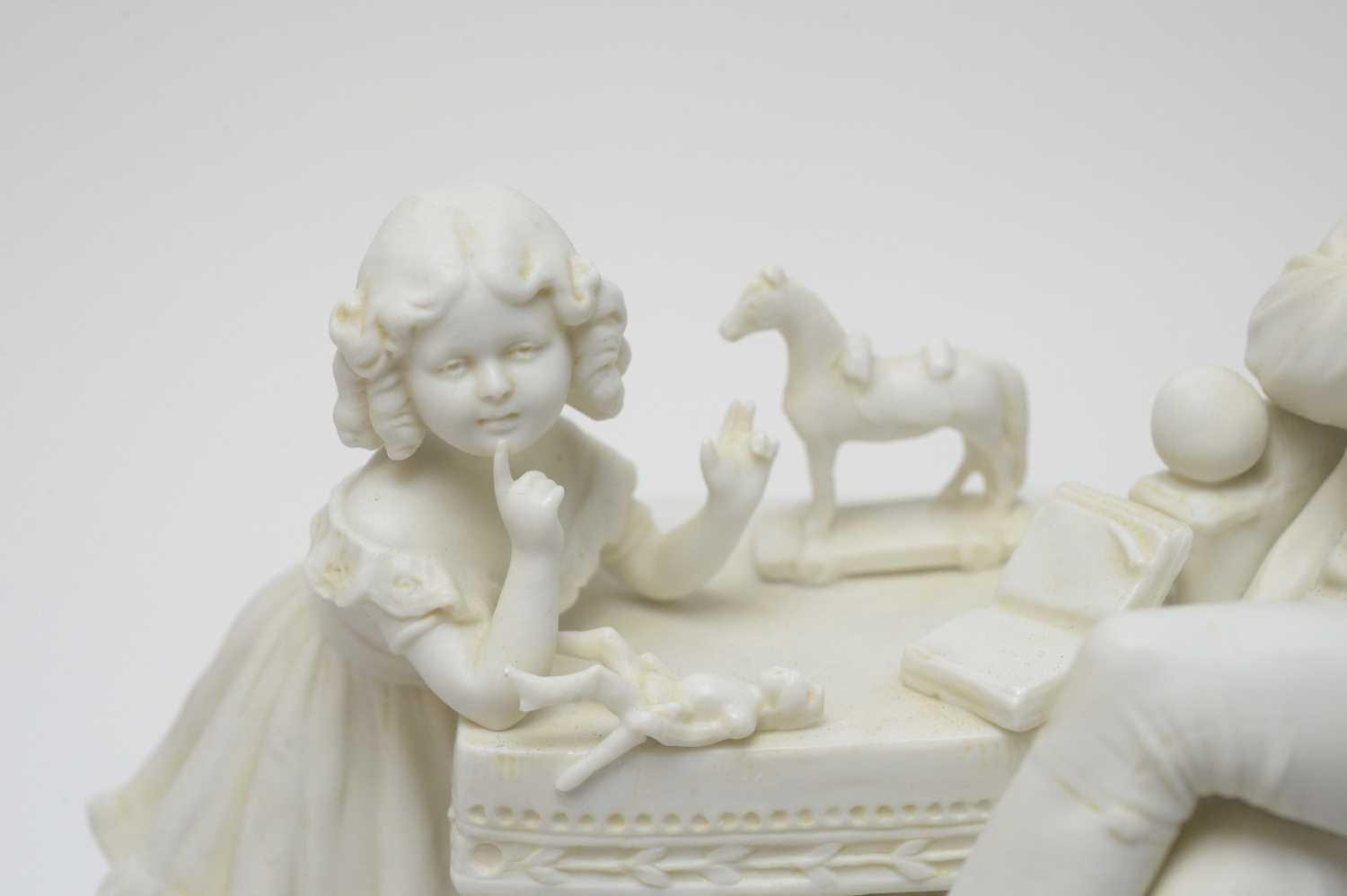 Scheibe-Alsbach biscuit figure Napoleon - Image 3 of 4