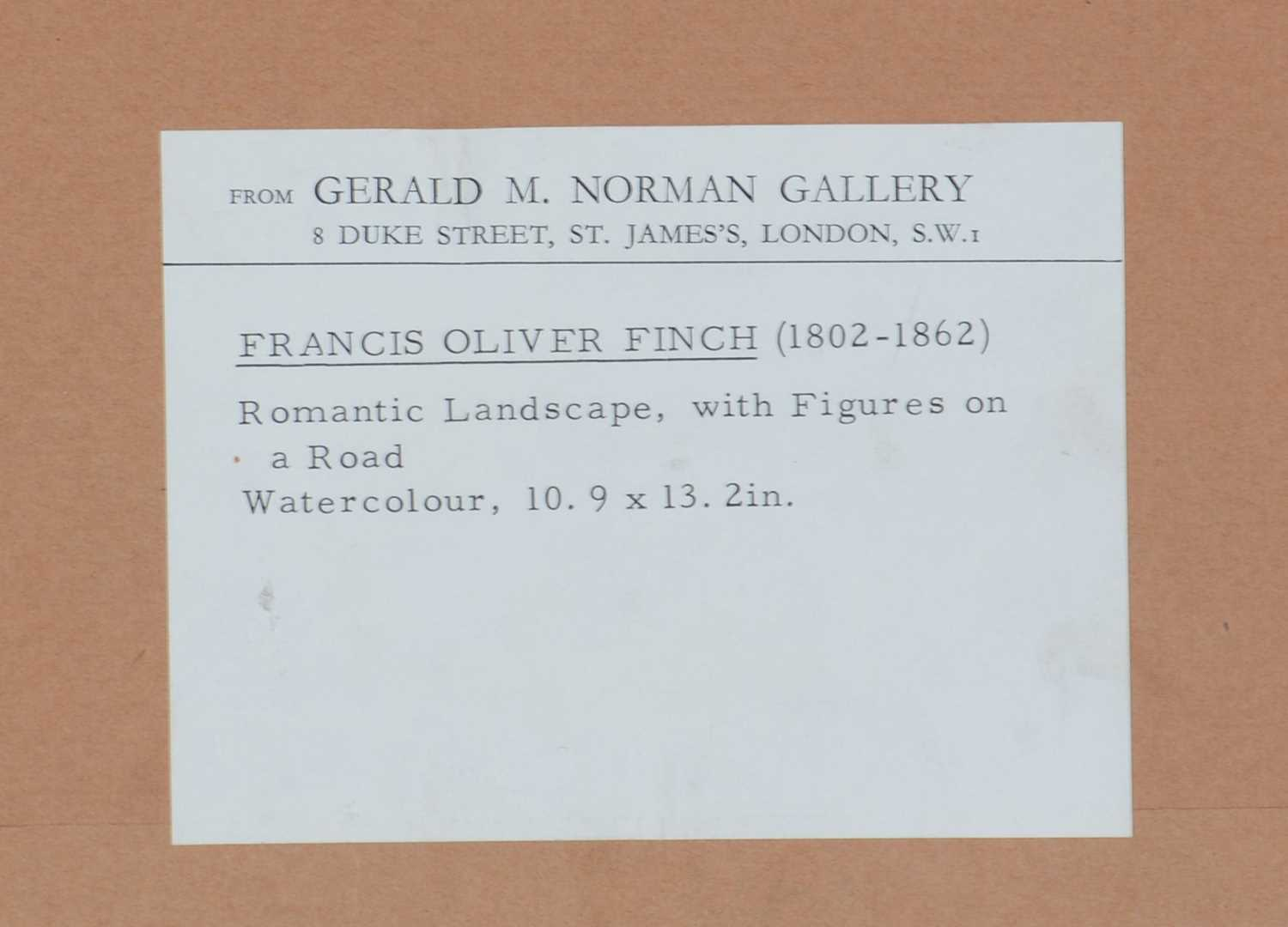 Attributed to Francis Oliver Finch - watercolour. - Image 3 of 4
