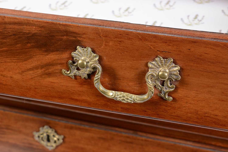 George III mahogany bachelors chest - Image 4 of 5