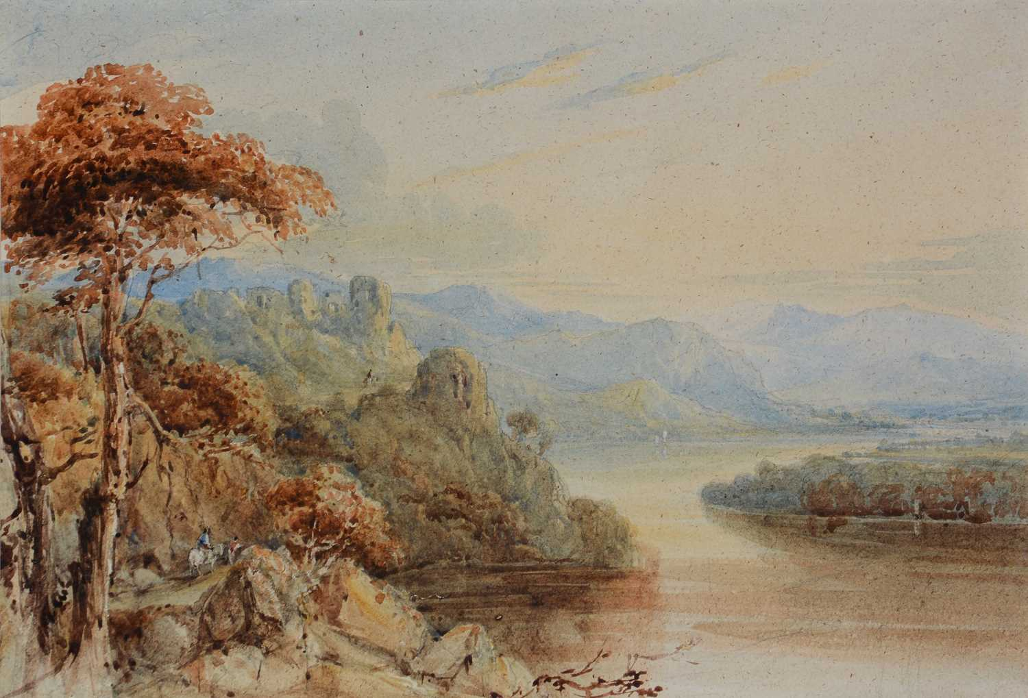 Attributed to Francis Oliver Finch - watercolour.