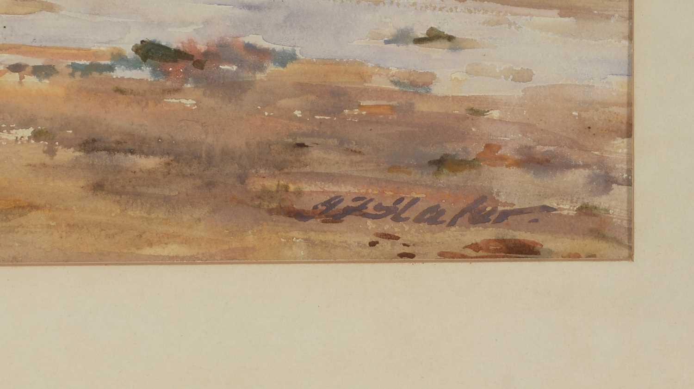 John Falconar Slater - watercolour. - Image 4 of 4