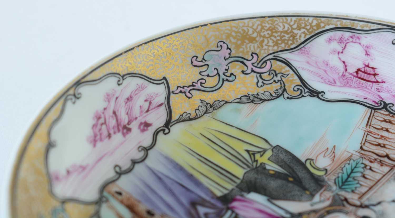 Yongzheng Famille rose saucer. - Image 12 of 15