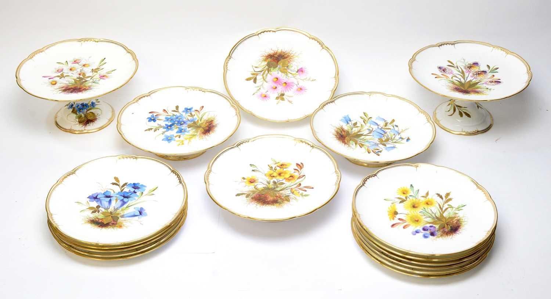Derby Crown Porcelain Company Dessert Service