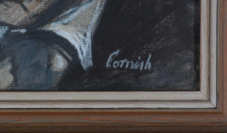 Norman Stansfield Cornish - watercolour. - Image 5 of 5