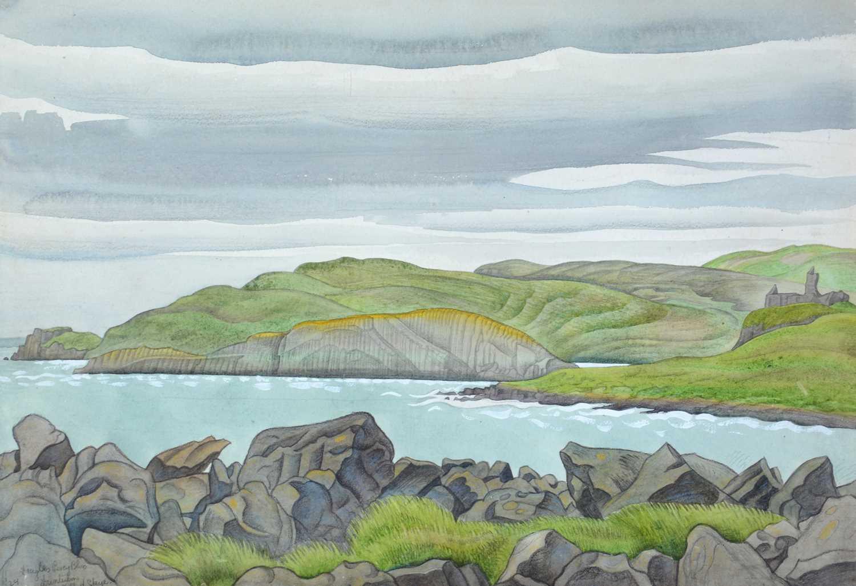 Douglas Percy Bliss - watercolour - Image 2 of 5