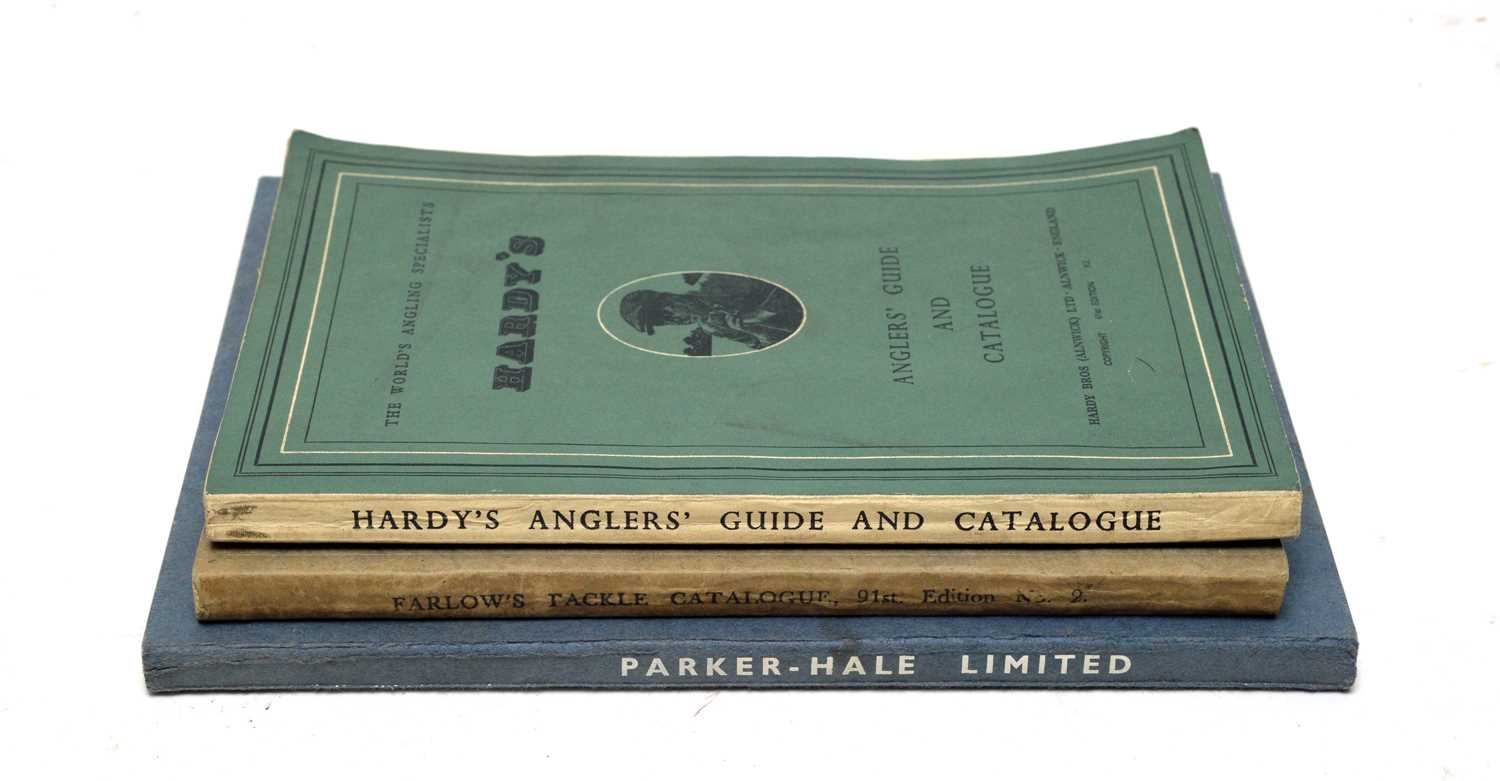 Catalogues of angling interest