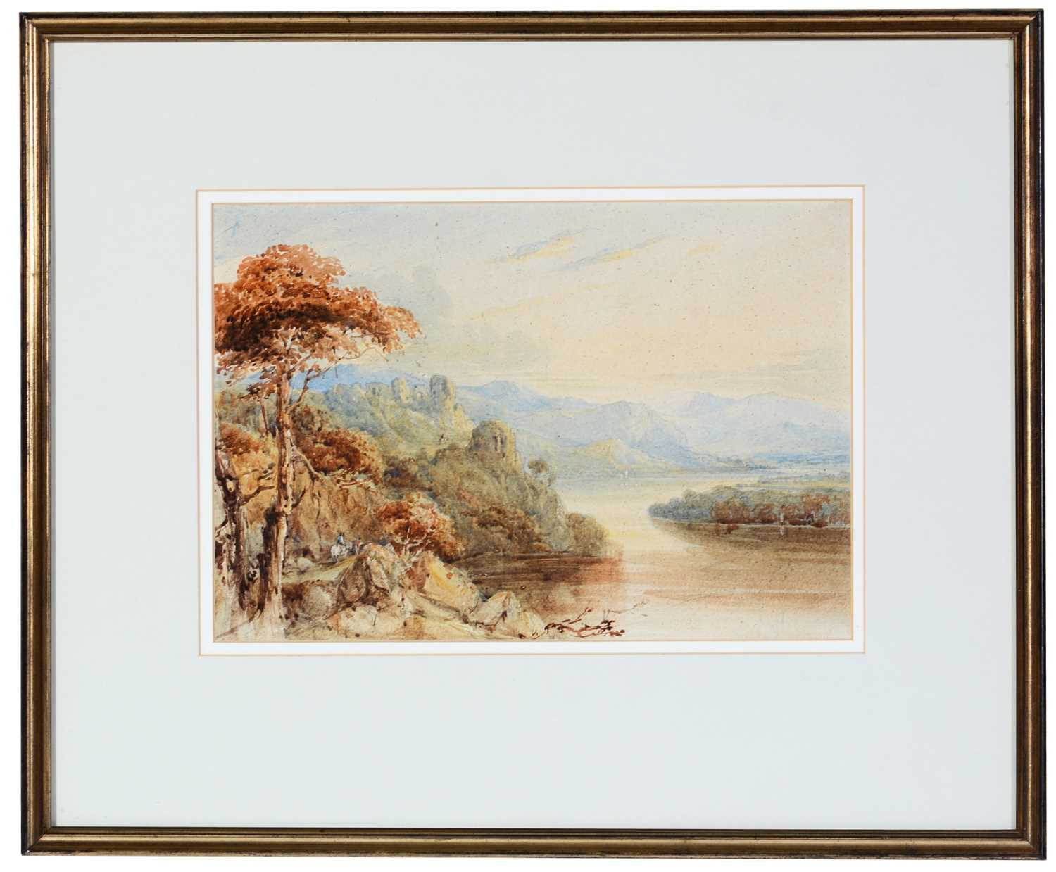 Attributed to Francis Oliver Finch - watercolour. - Image 2 of 4
