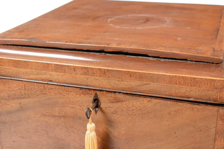 19th Century mahogany cellarette - Image 3 of 6