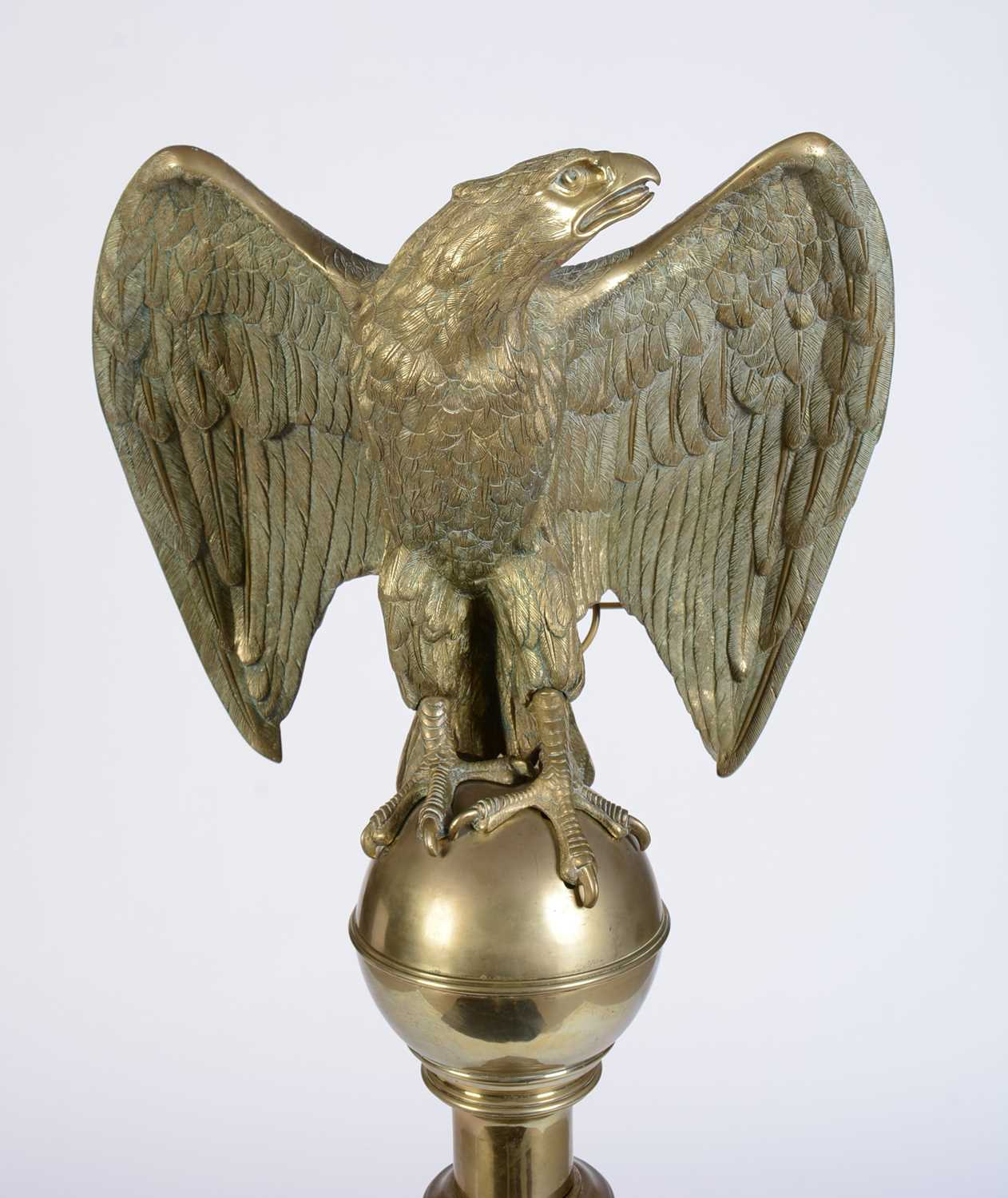 Early 20th Century cast brass lectern - Image 2 of 12