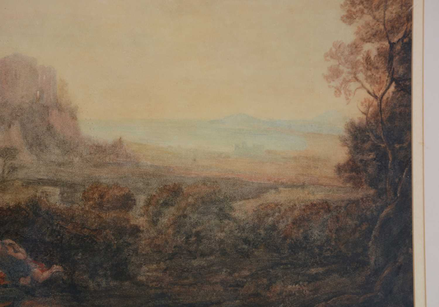 Attributed to Joseph Mallord William Turner, RA - watercolour - Image 3 of 11