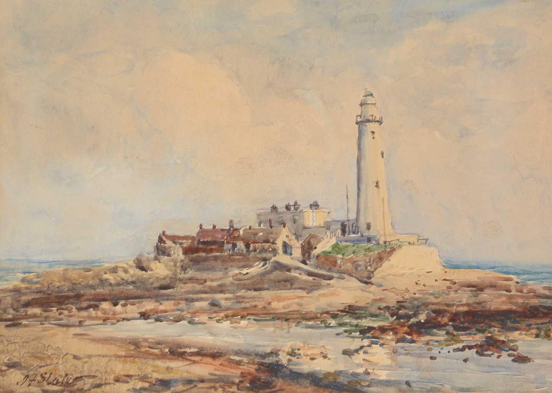 John Falconar Slater - watercolour. - Image 3 of 4
