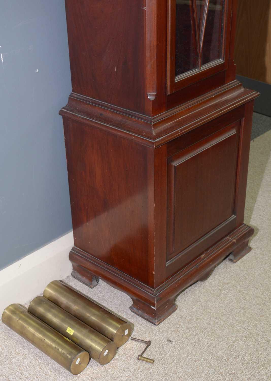 Reid - 20th Century musical longcase clock - Image 7 of 11