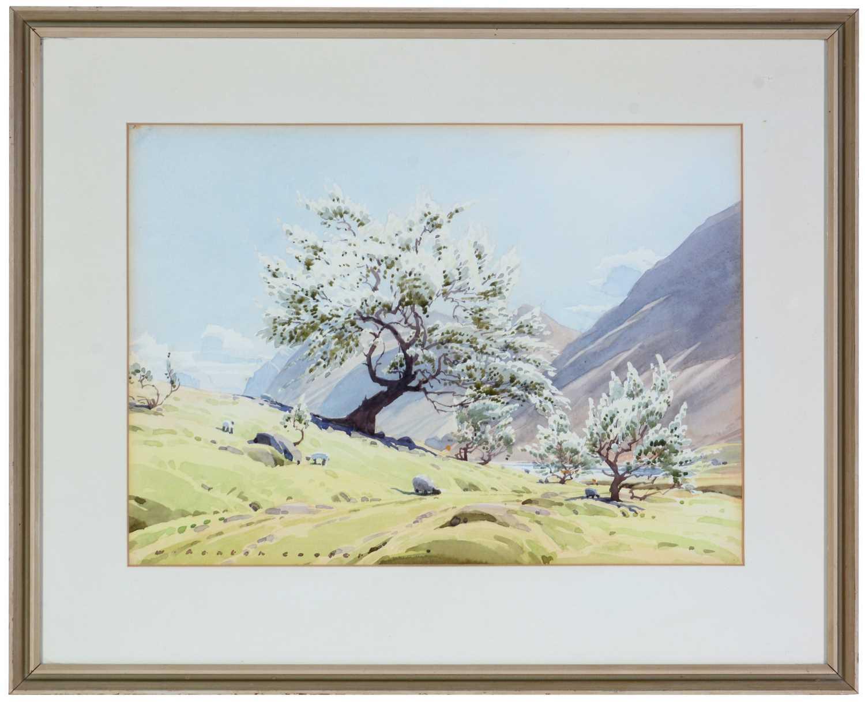 William Heaton Cooper - watercolour. - Image 4 of 4