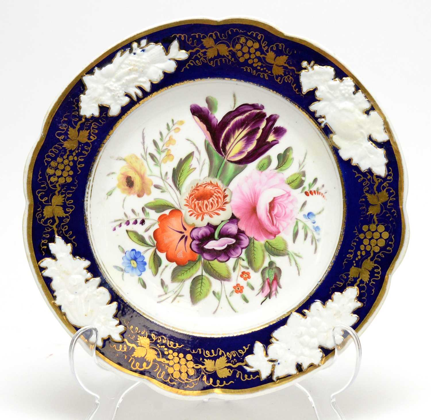 Two Spode dessert plates, two others - Image 8 of 10