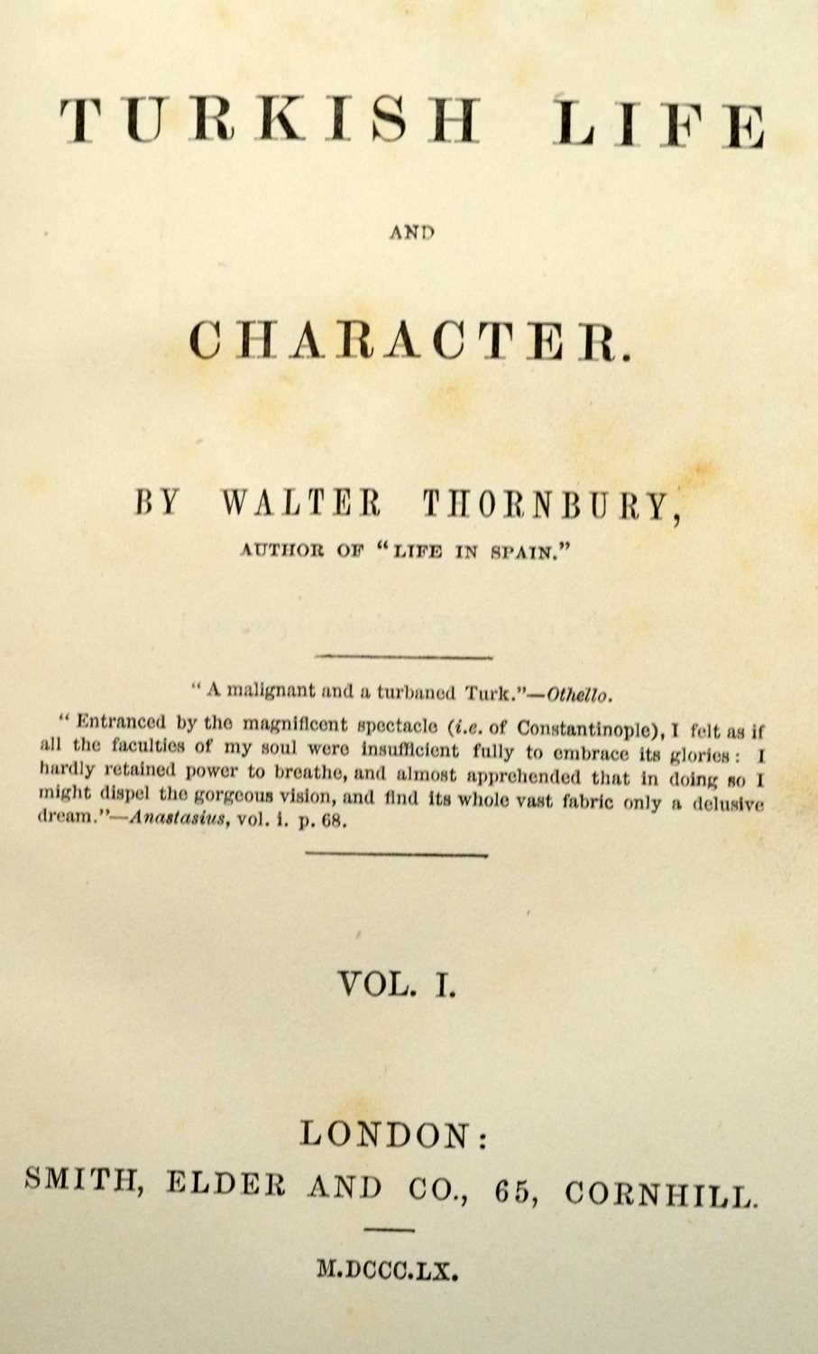 Southey (Robert), The Life of Nelson, and two other books - Image 2 of 3