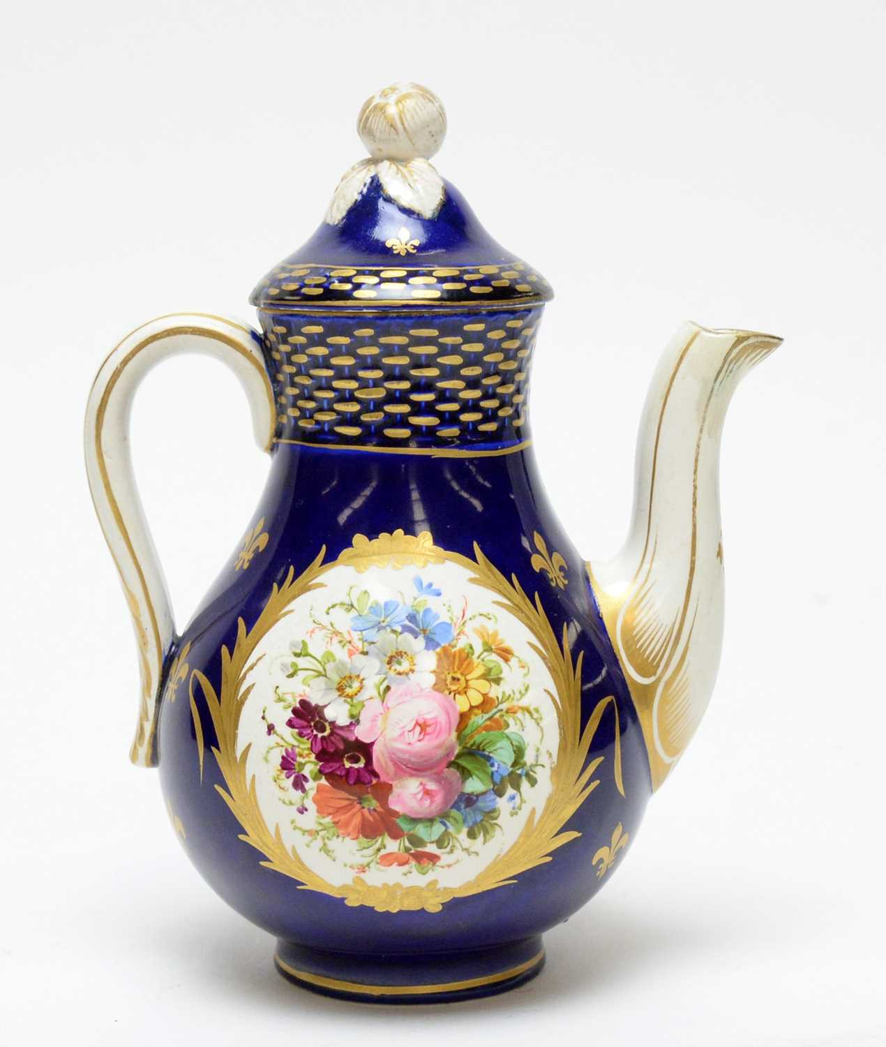 Sevres style coffee pot - Image 3 of 3