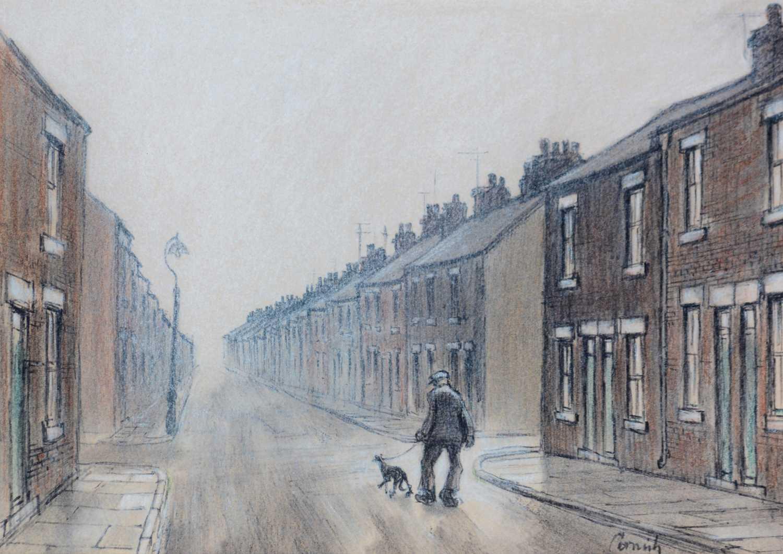Norman Stansfield Cornish - watercolour. - Image 3 of 4