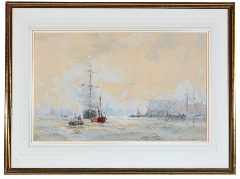 Walter William May, RI - watercolour