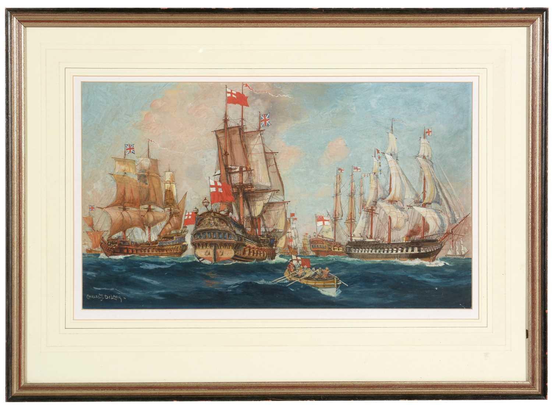 Charles de Lacy - watercolour.