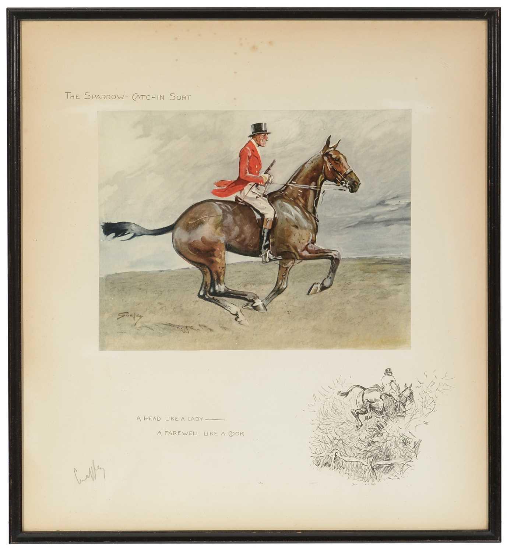 """""""Snaffles"""" Charles Johnson Payne - print."""