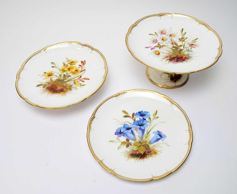 Derby Crown Porcelain Company Dessert Service - Image 2 of 4
