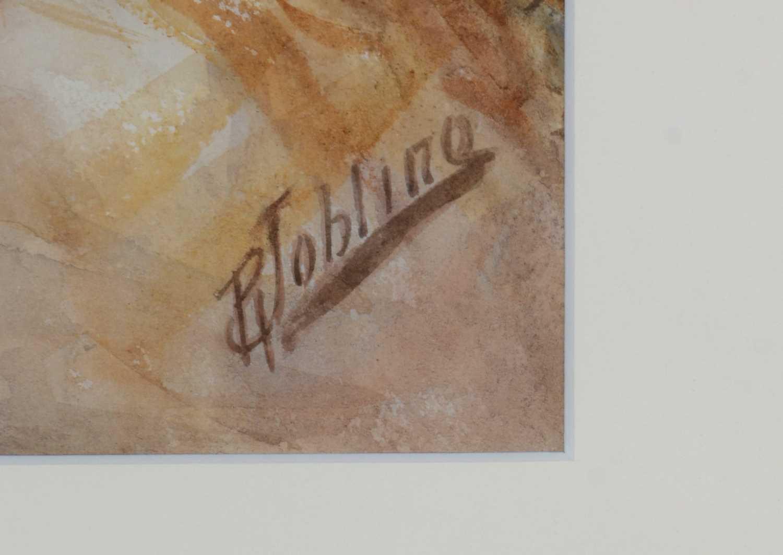 Robert Jobling - watercolour. - Image 3 of 5