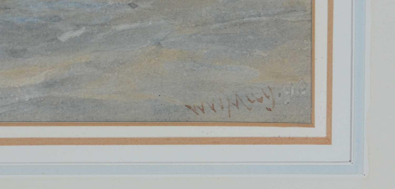 Walter William May, RI - watercolour - Image 3 of 4